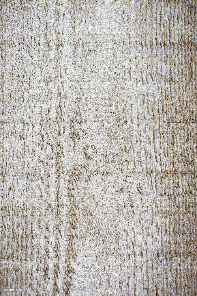 Stained plank of a wooden wall stock photo
