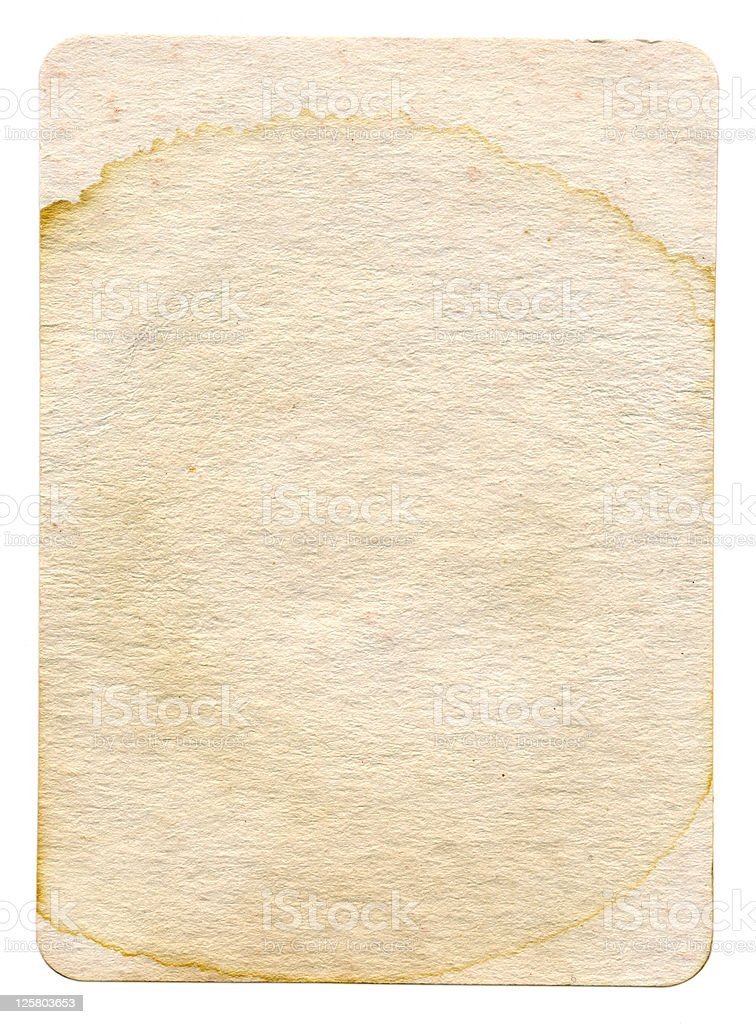 Stained Textured Cardboard stock photo