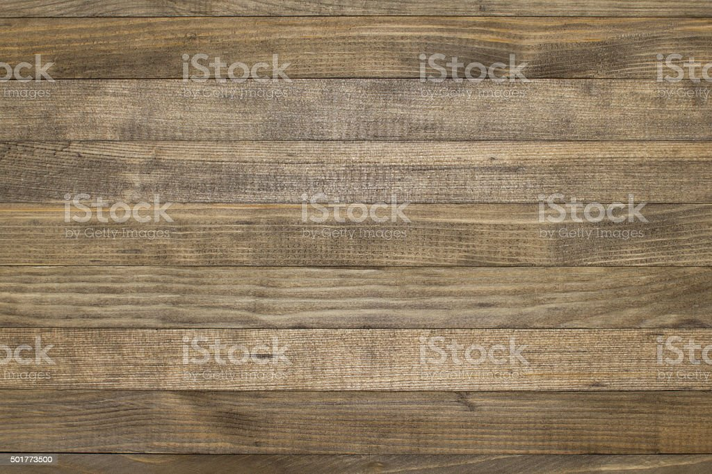 stained wood plank background closeup stock photo