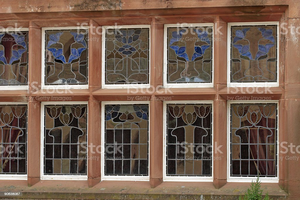 Stainedglass royalty-free stock photo