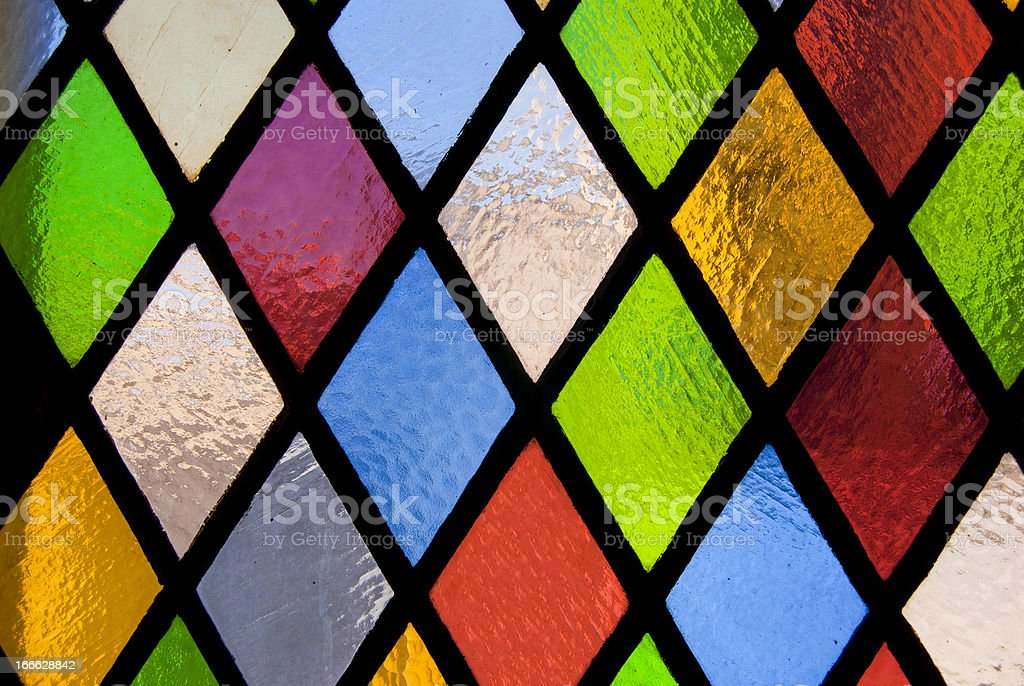 stained-glass window stock photo