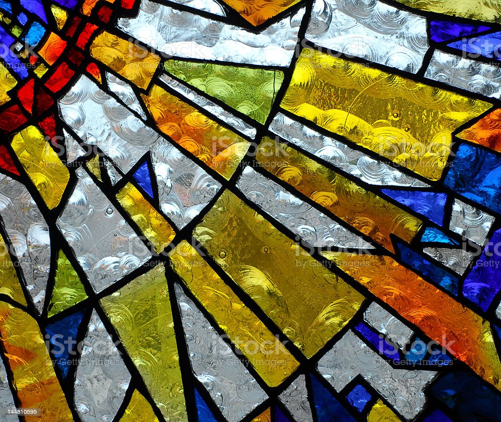 stainglass 5 stock photo