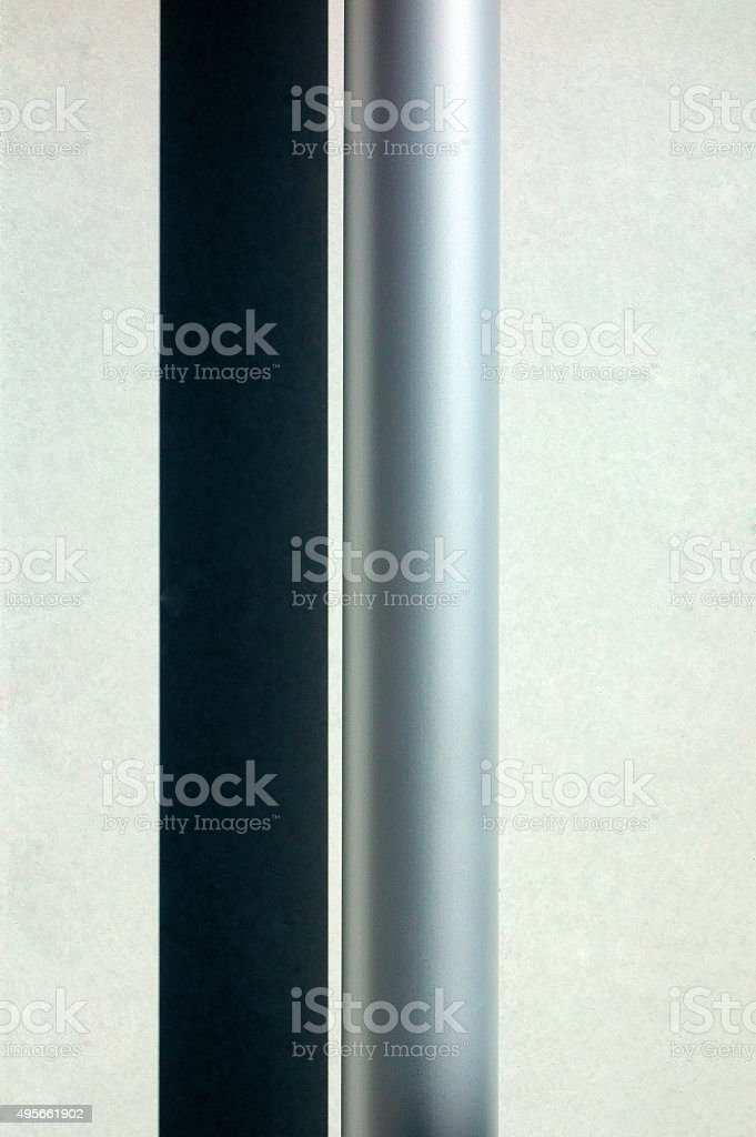 Stainless pipe stock photo