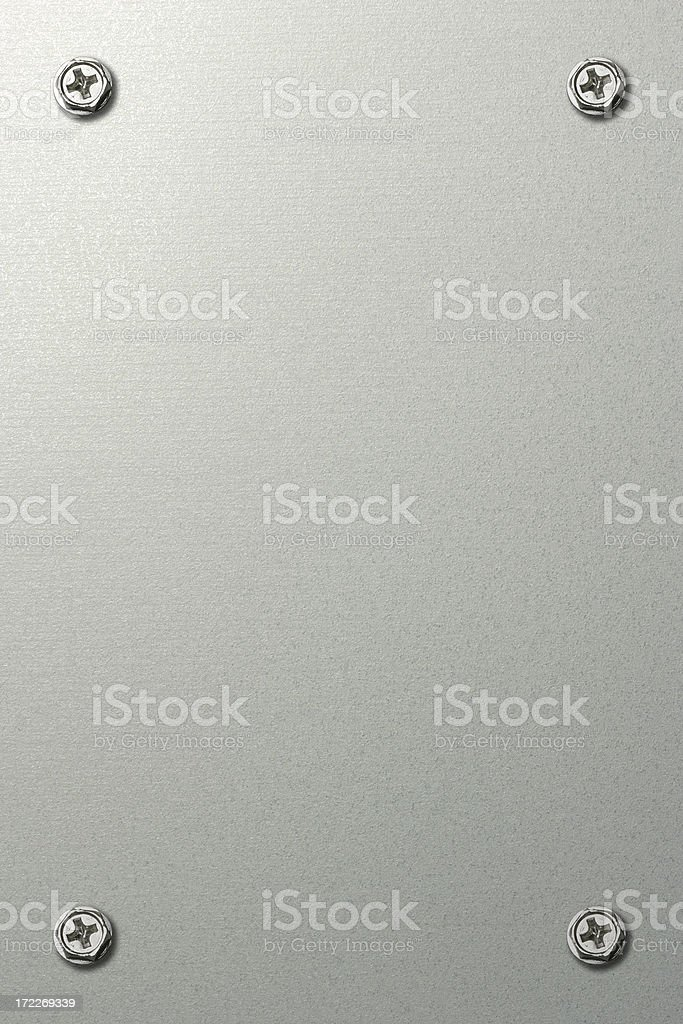 Stainless Plate royalty-free stock photo