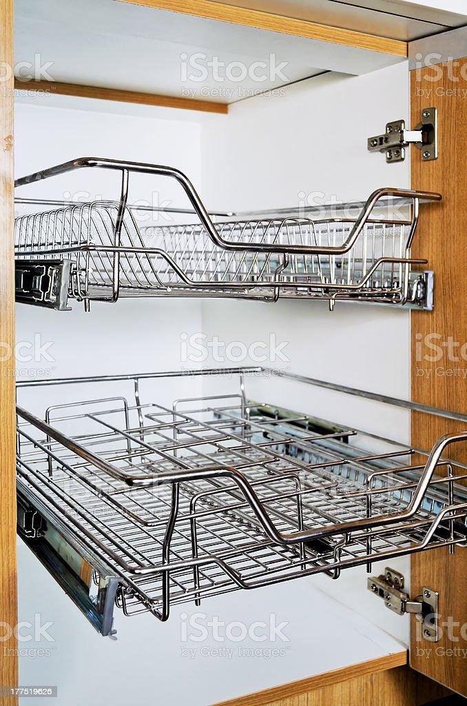 Stainless Rack stock photo