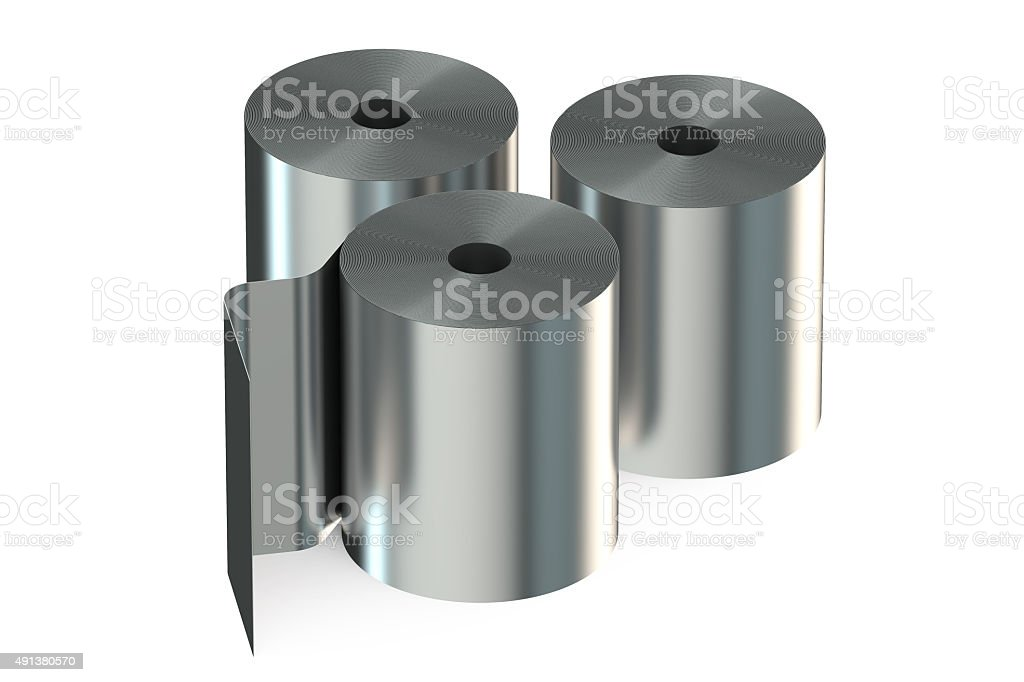 Stainless Steel Coils stock photo