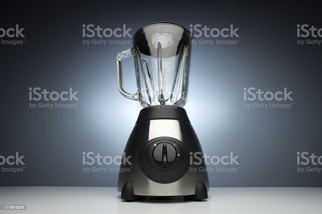 Stainless Steel Kitchen Blender Appliance royalty-free stock photo