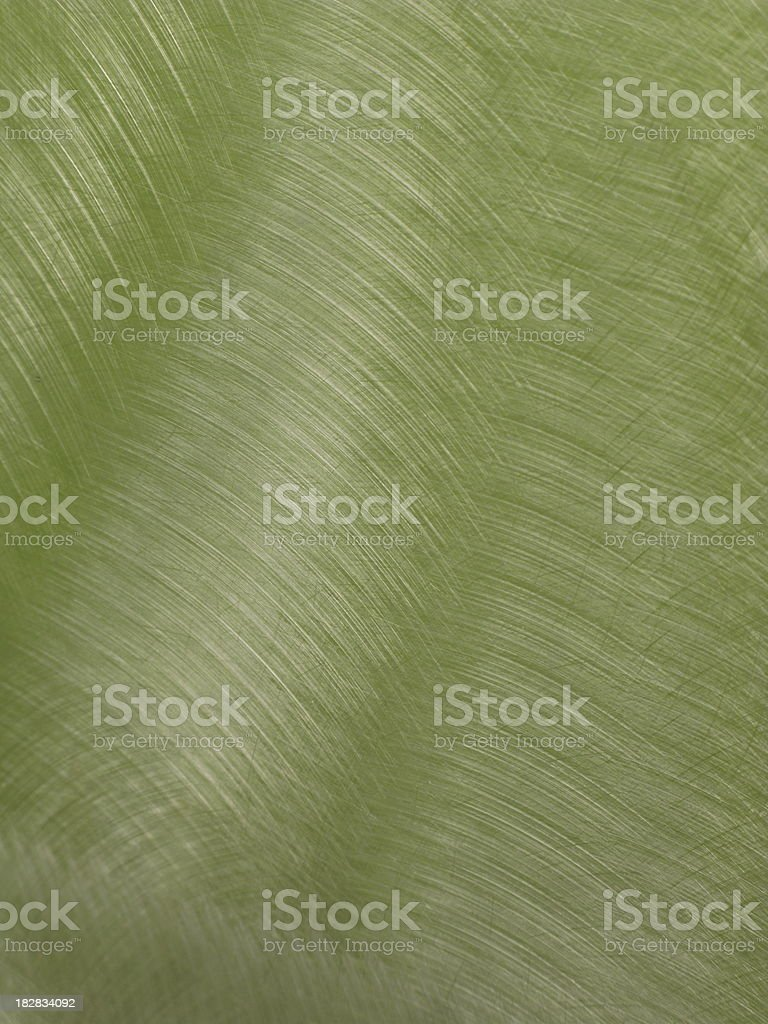 Stainless Steel Pattern Green Close Up royalty-free stock photo