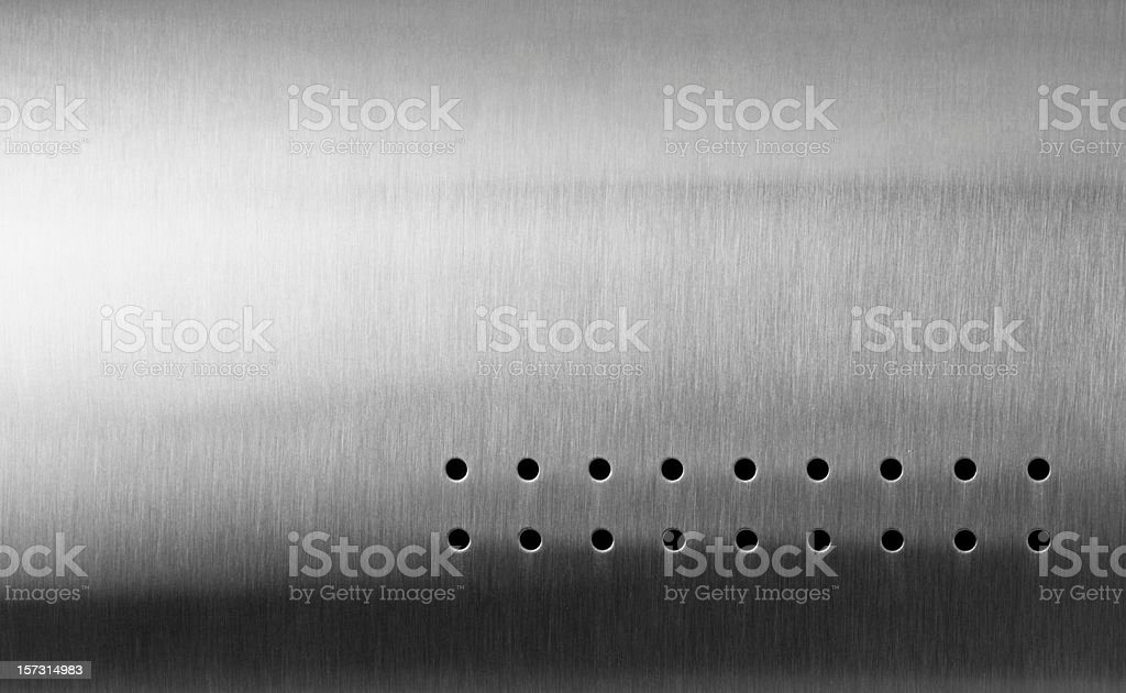 Stainless steel stock photo