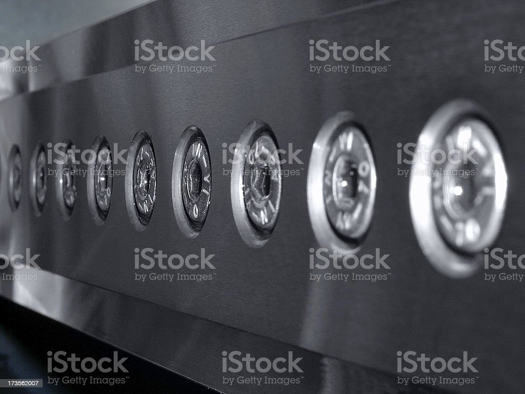 Stainless steel royalty-free stock photo