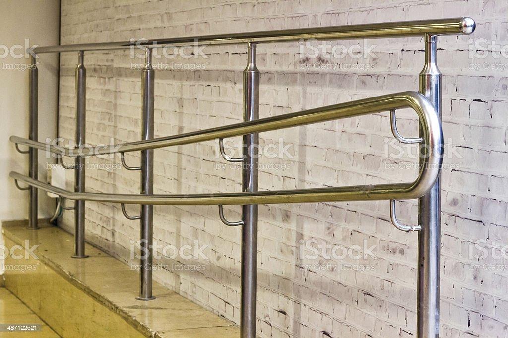 stainless steel railings stock photo istock