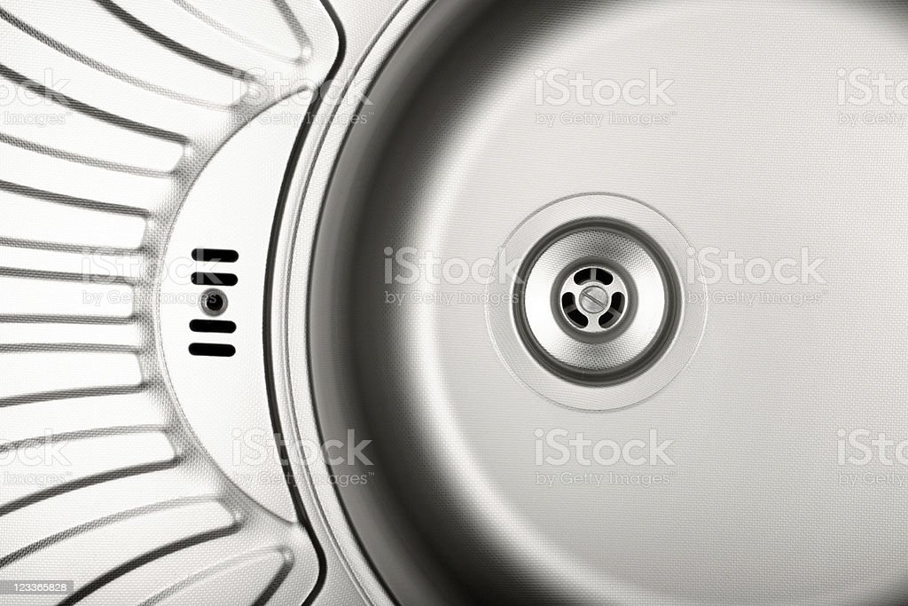 Stainless Steel sink royalty-free stock photo