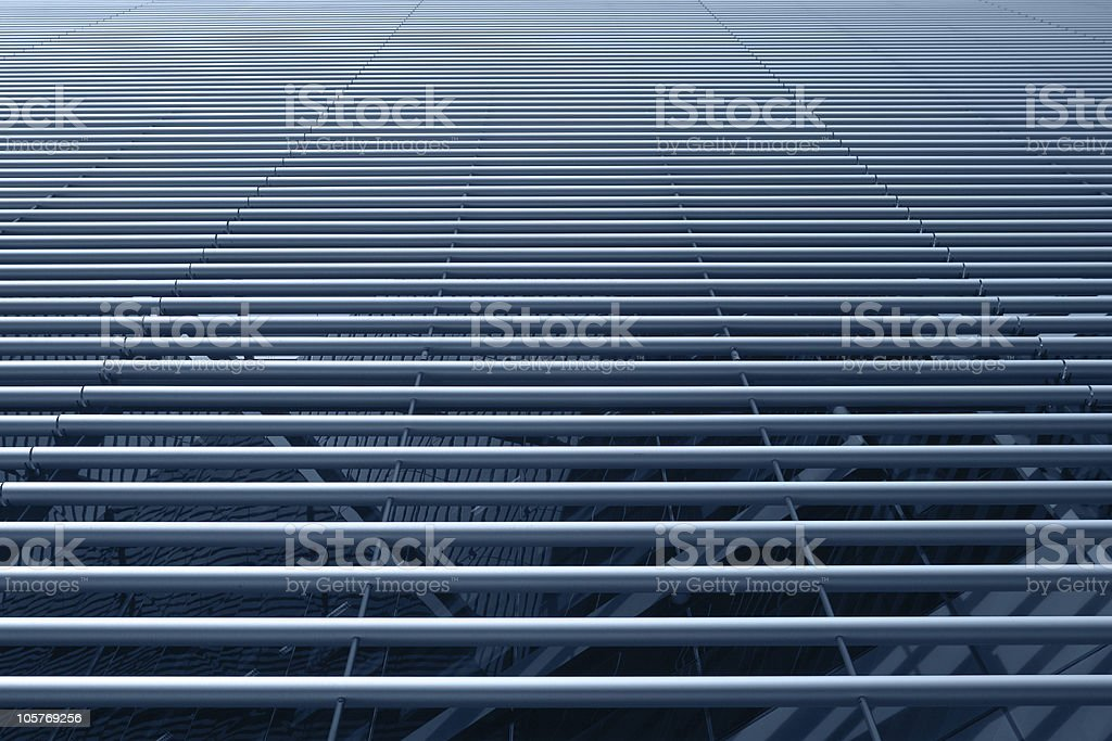 Stainless steel tubes surface royalty-free stock photo