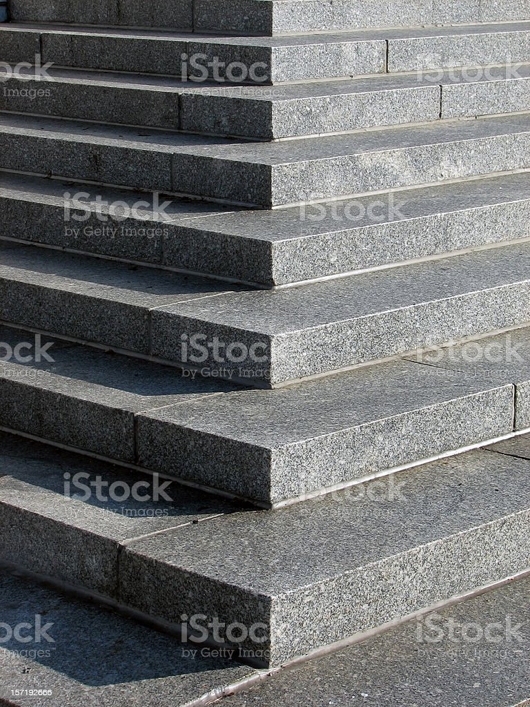 Stair Abstract royalty-free stock photo