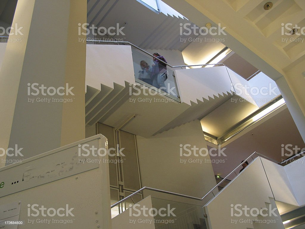 stair cases royalty-free stock photo