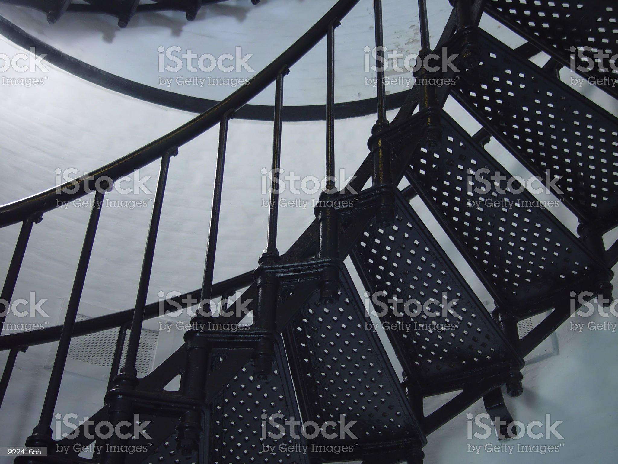 Stair Illusion royalty-free stock photo
