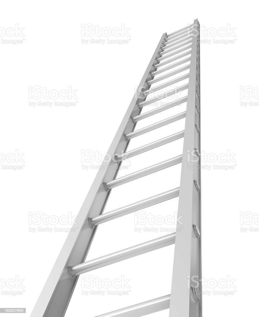 Stair moving Up stock photo