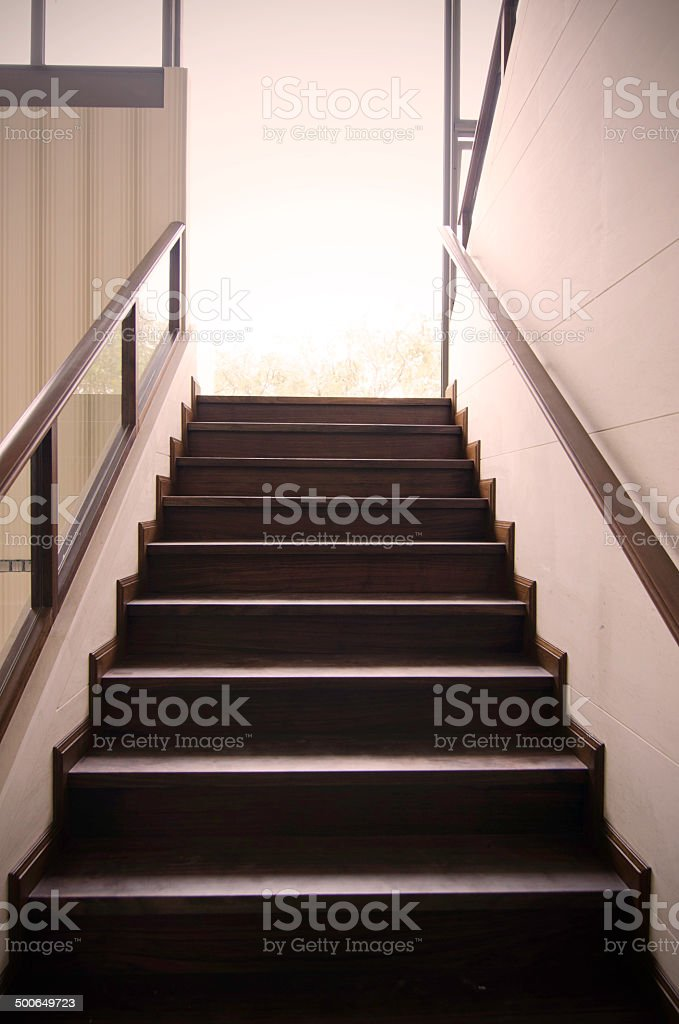 stair to the future royalty-free stock photo