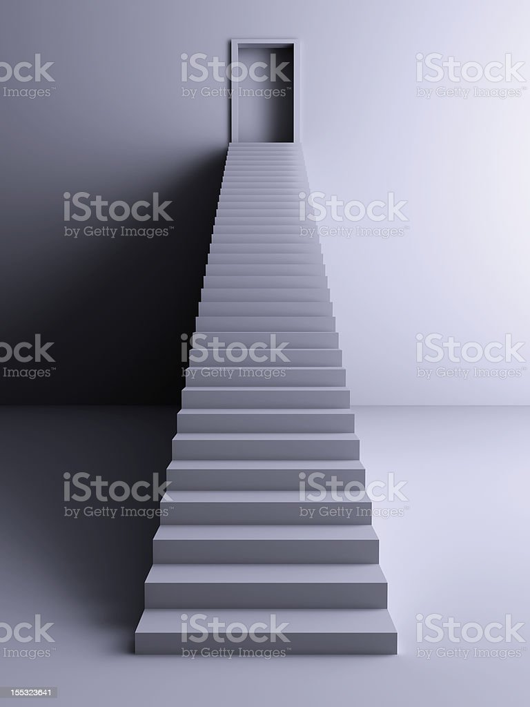 Staircaise royalty-free stock vector art