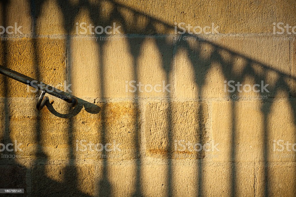 Staircase Abstract royalty-free stock photo