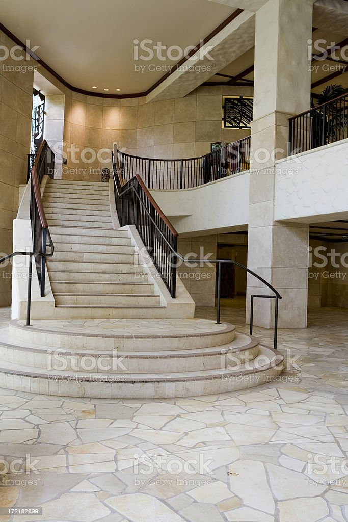 Staircase and Mezzanine royalty-free stock photo