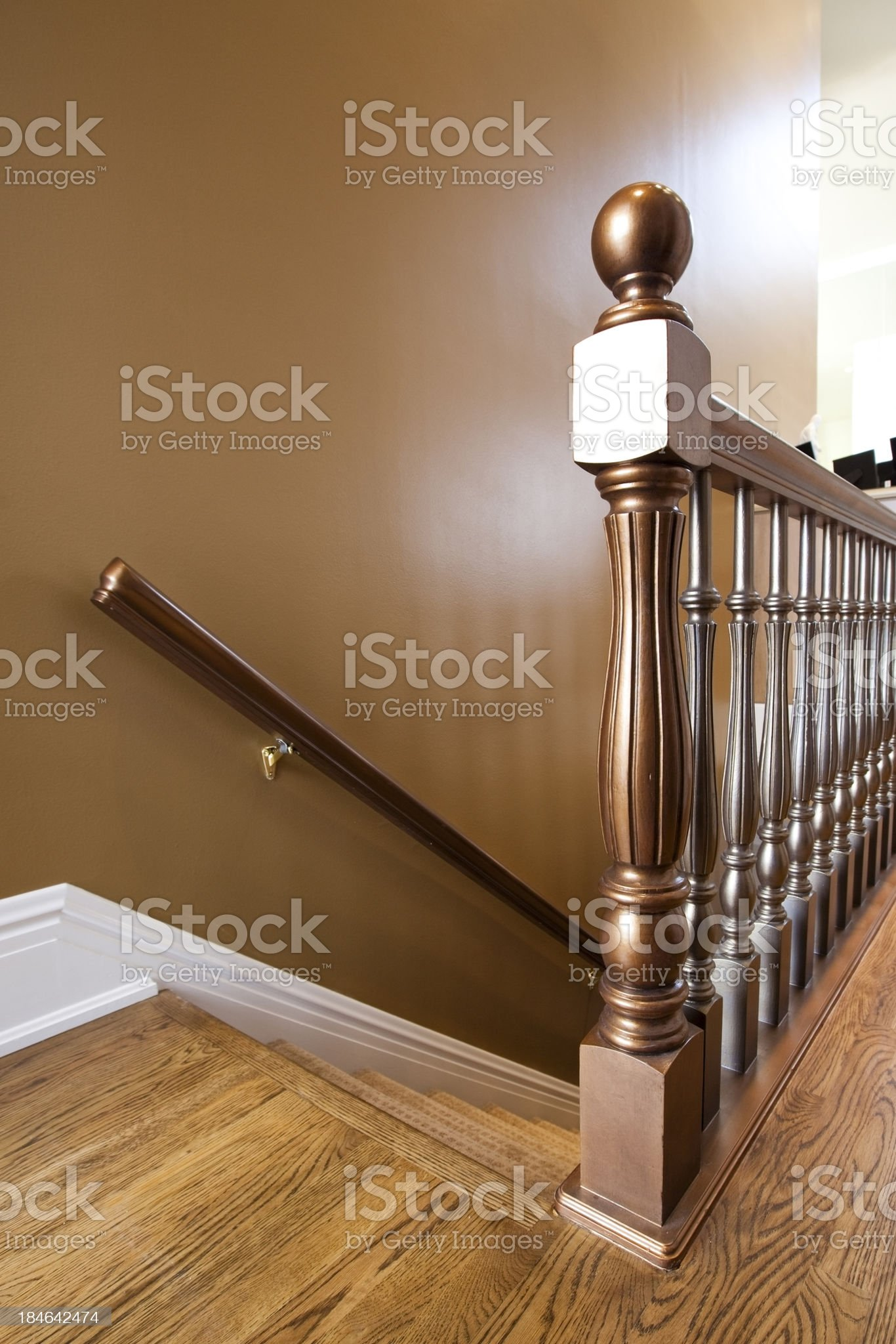 Staircase Banister royalty-free stock photo