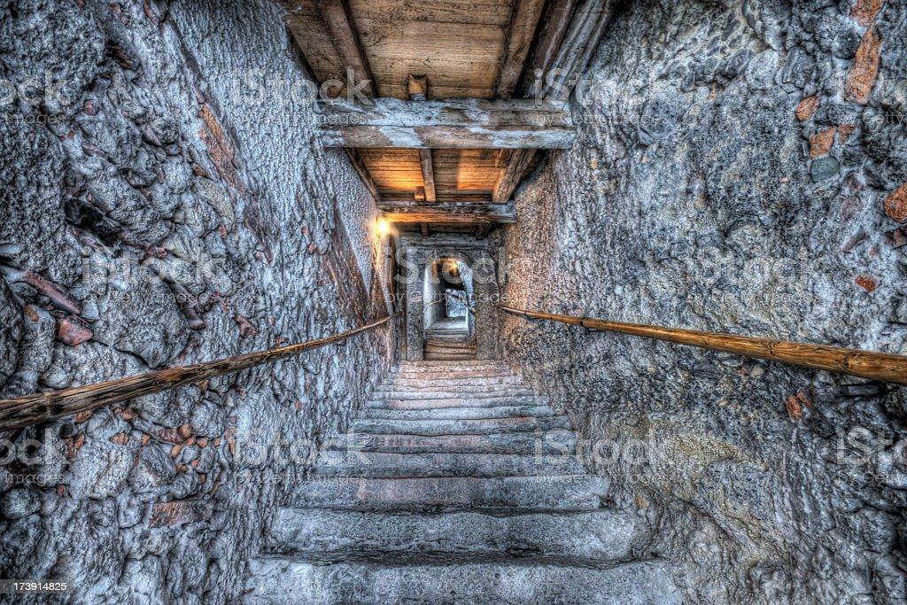 Staircase Illusion royalty-free stock photo