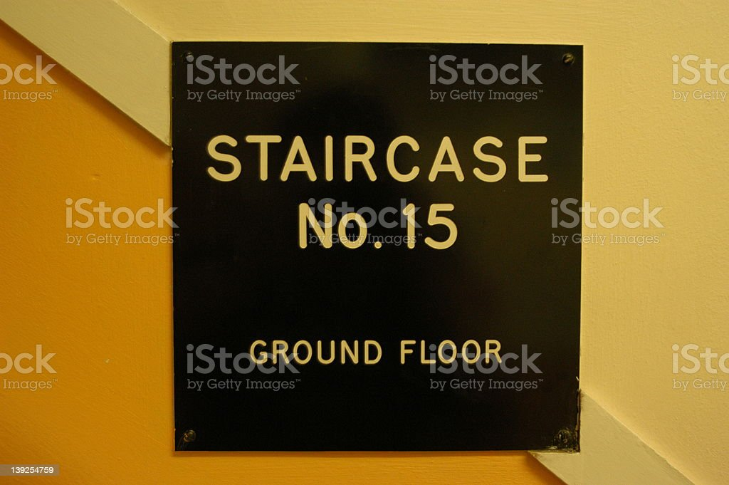 Staircase No.15 royalty-free stock photo