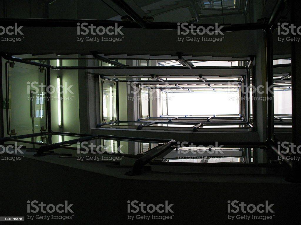 staircase royalty-free stock photo