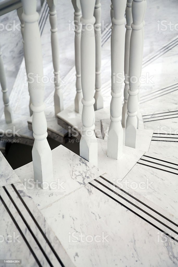 NPMR Staircase royalty-free stock photo