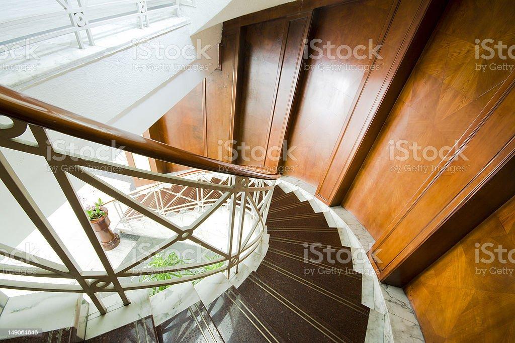 staircase stock photo