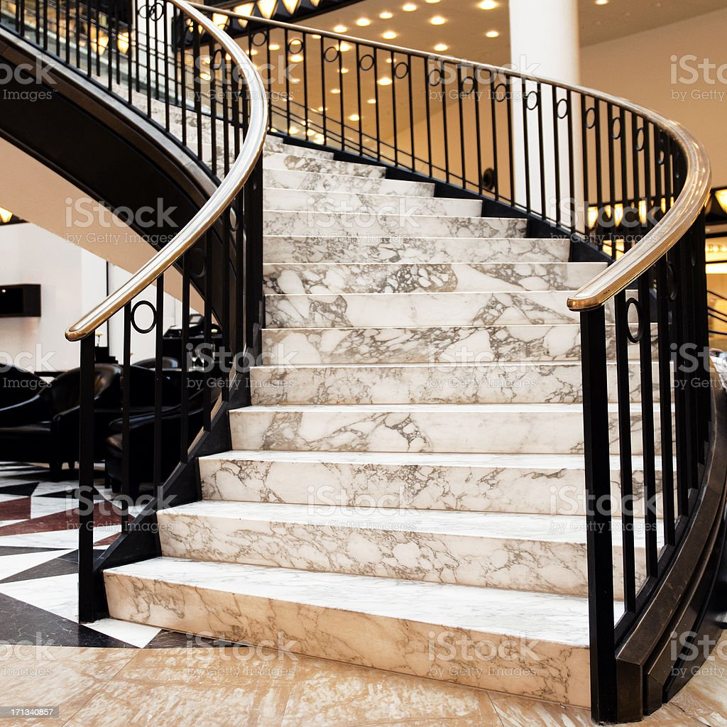 Staircase,Berlin royalty-free stock photo