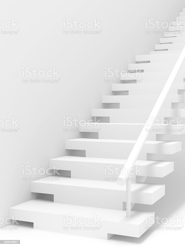 Stairs Abstract Background stock photo