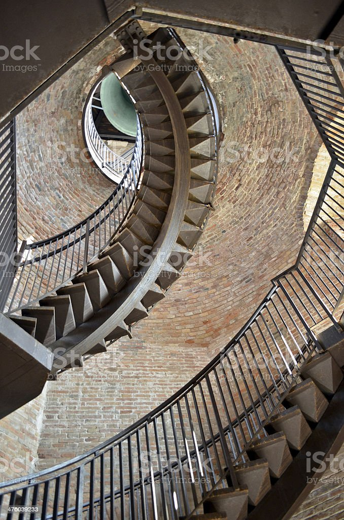 Stairs at Verona stock photo