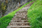 stairs in mountains