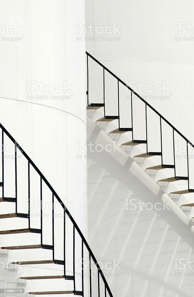 Stairs in Vertical royalty-free stock photo