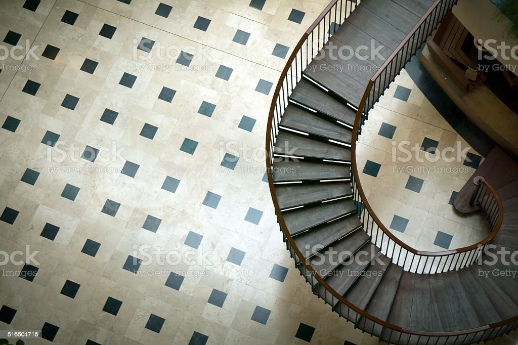 Stairs on Home stock photo