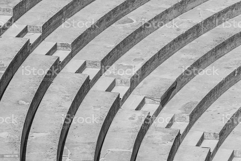 Stairs Pattern royalty-free stock photo