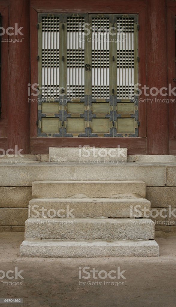 Stairs to Door royalty-free stock photo