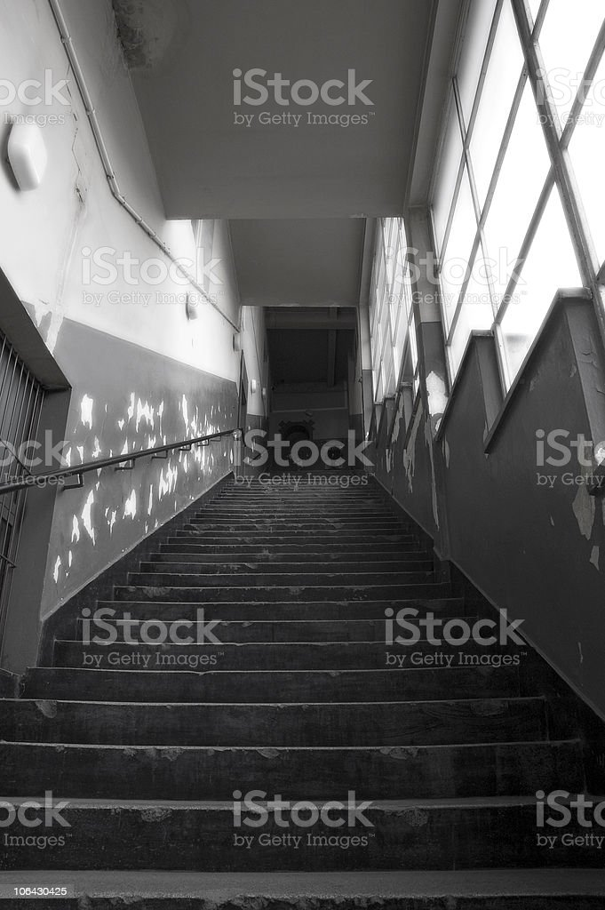 Stairs to salvation. royalty-free stock photo