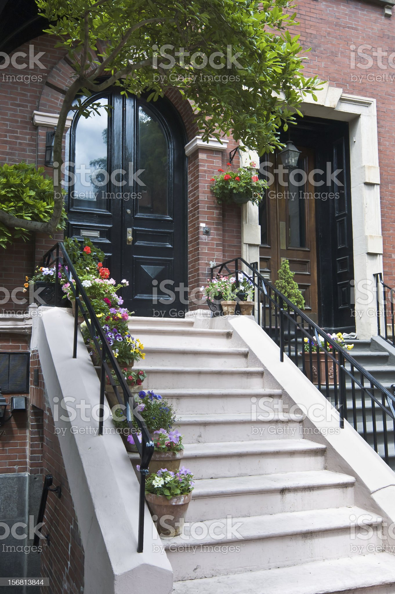 Stairway Garden royalty-free stock photo