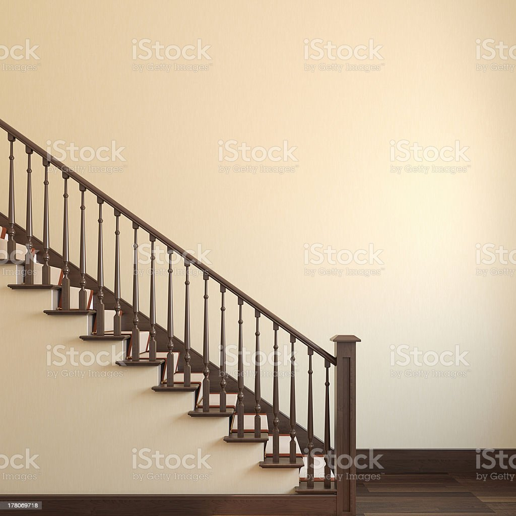 Stairway. royalty-free stock photo