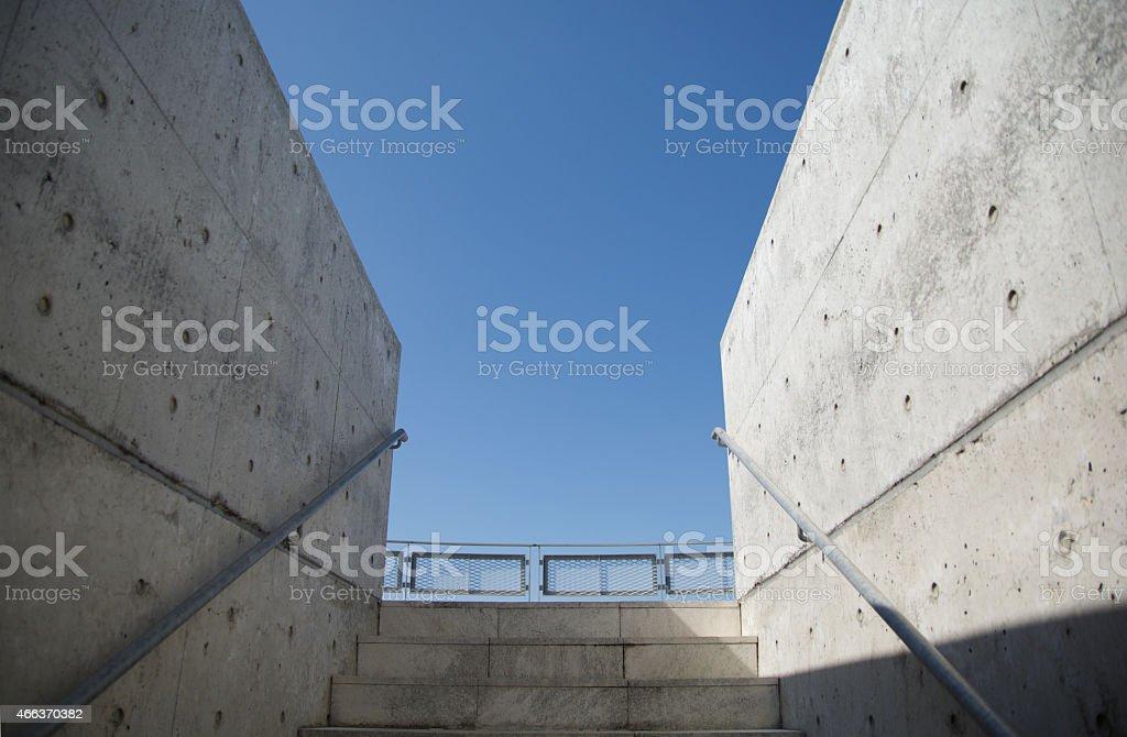 stairway royalty-free stock photo