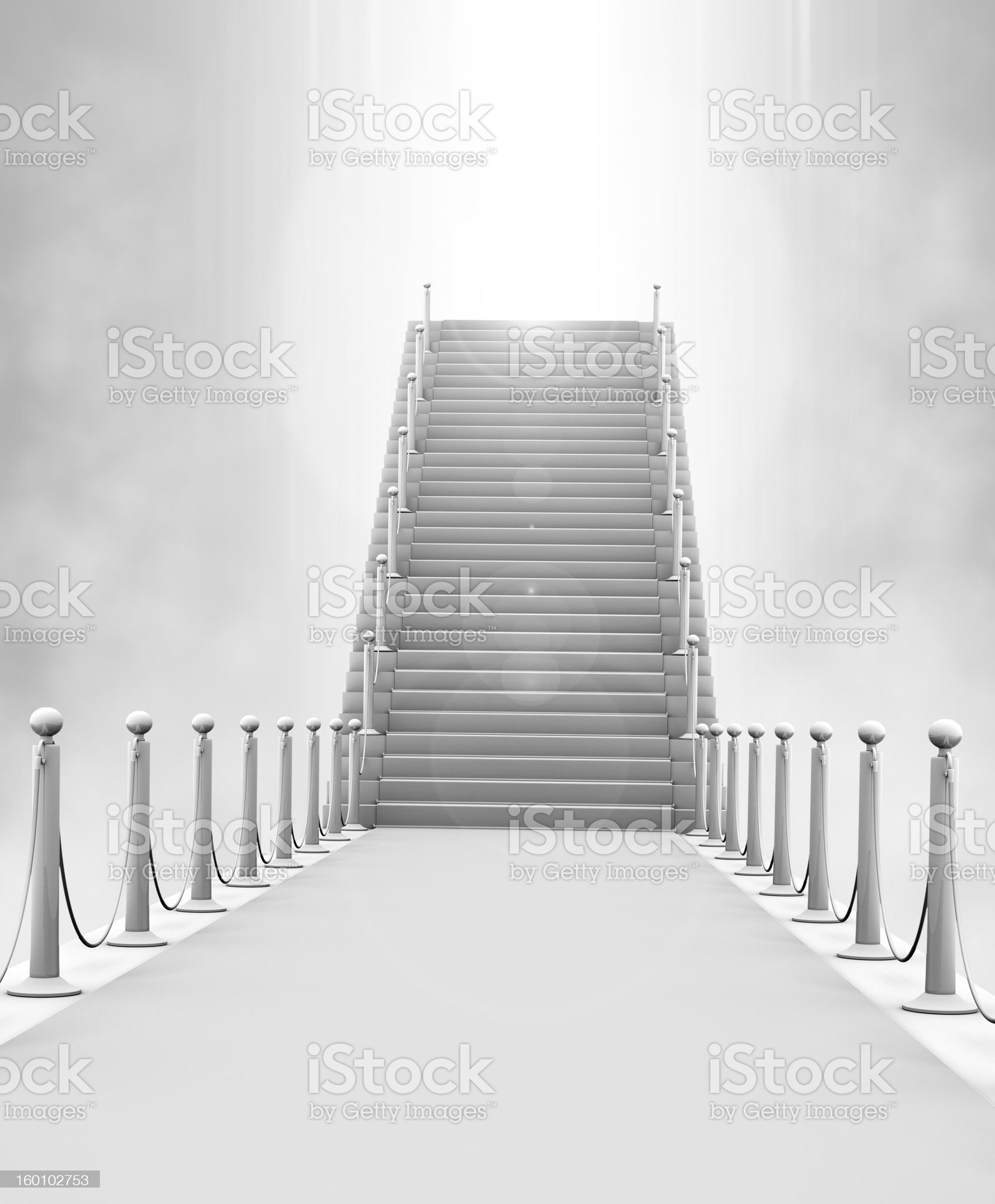 Stairway to Heaven royalty-free stock vector art