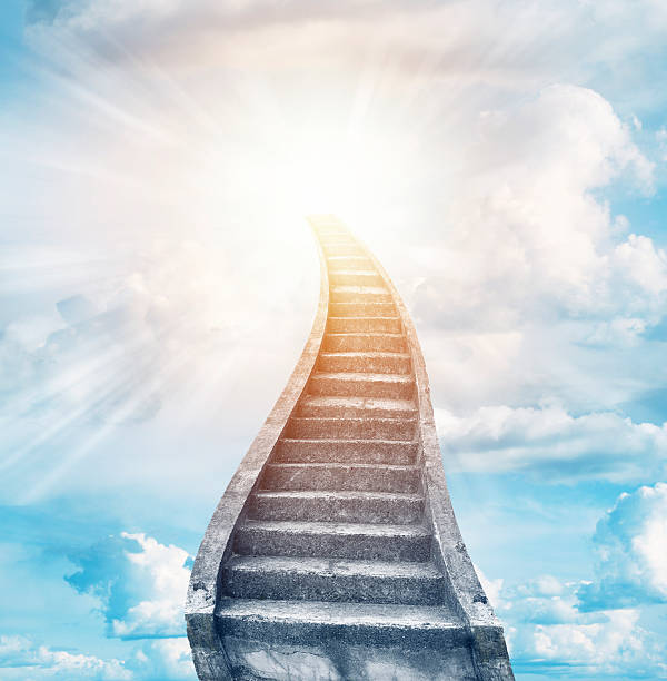 stairway to heaven pictures images and stock photos istock