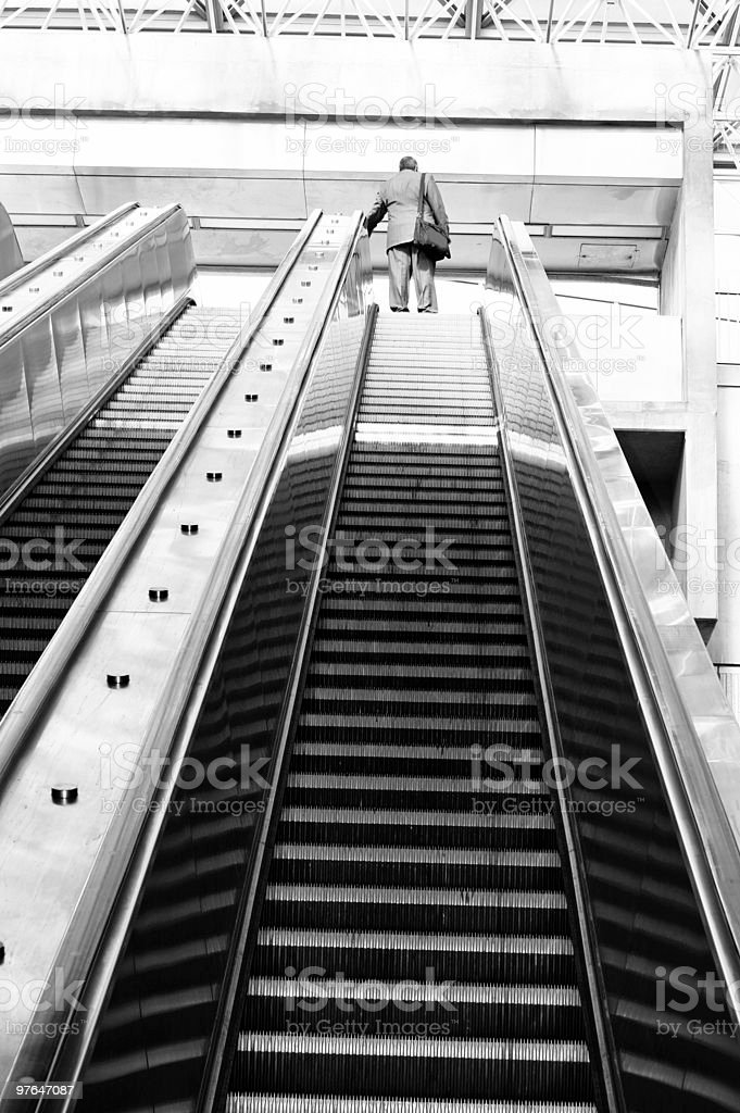 stairway to success royalty-free stock photo
