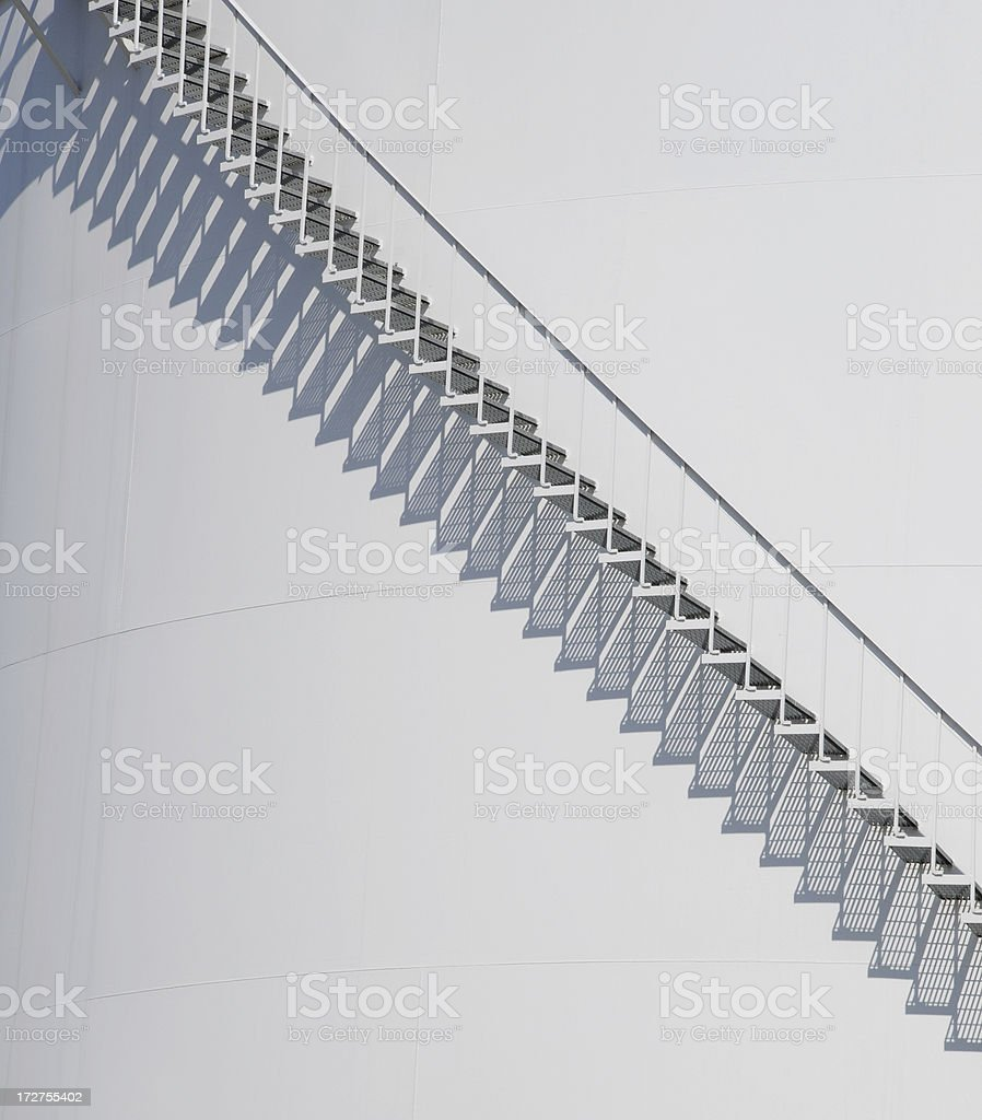 Stairway To The Sky royalty-free stock photo
