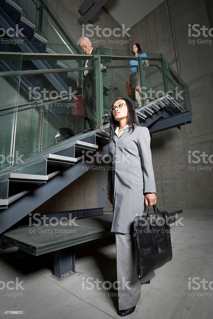 Stairway to Work royalty-free stock photo