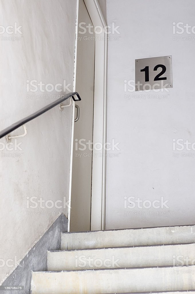 stairwell royalty-free stock photo