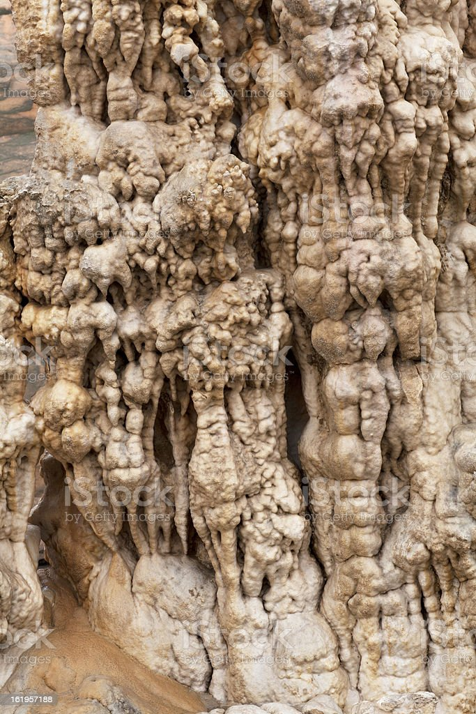 Stalactite royalty-free stock photo